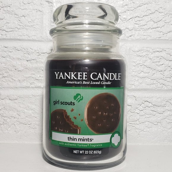 Yankee Candle Girl Scout Cookies Thin Mint